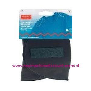 003276 / Schoudervulling zwart rechtmodel + klittenband art.nr 993817