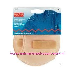 Schoudervulling raglan huid klein+klitterband art.nr.993831 - 3277