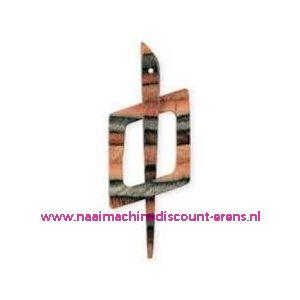Decoratieve sluiting voor o.a. breiwerken Prym art.nr.417743 / 003316