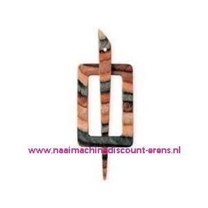 Decoratieve sluiting voor o.a. breiwerken Prym art.nr.417742 / 003317