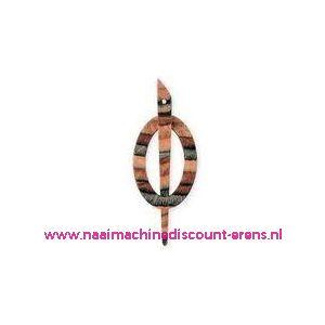 Decoratieve sluiting voor o.a. breiwerken Prym art.nr.417741 / 003446