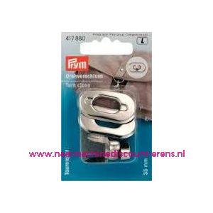 Draaisluiting voor op tassen Zilver kleur prym art.nr.417880 - 3585