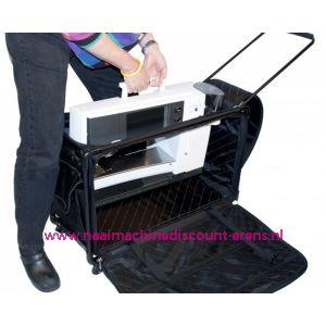 "TUTTO Trolley voor naaimachine ""EXTRA EXTRA LARGE"" zwart"