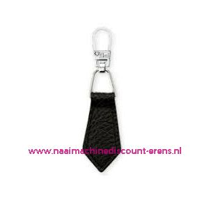 Fashion Zipper leder imitatie Zwart prym art. nr. 482352 - 6165