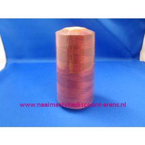 006342 / Kleur 543 Bordeaux rood 3000 Yards 100% Polyester