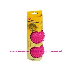 Wasdroger ballen roze Kleiber 2 stuks