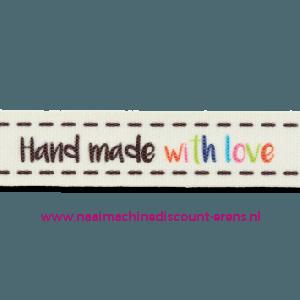 Band Handmade with Love kl.903 per meter prijs