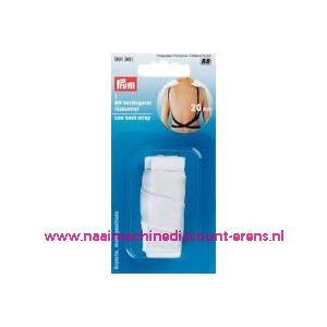 009340 / BH-Bretellen rugvrij Wit prym art. nr. 991961