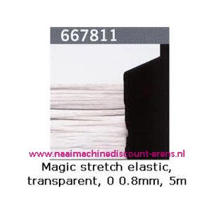 Gutermann Kralen Magic Stretch Wit art. 667811 - 9363
