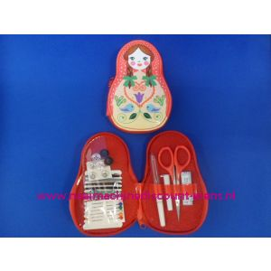 Babushka Naaiset Rood - 9422