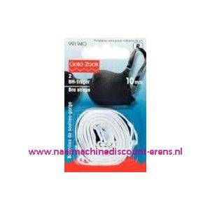 BH-Schouderband Wit 10 Mm prym art. nr. 991940