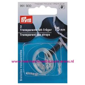 BH-Schouderband Transparant 15 Mm prym art. nr. 991930
