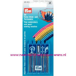 009653 / Naalden Assortie Borduur En Parelnaalden Prym art.nr. 125110