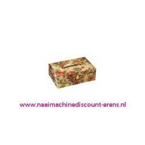 009834 / Naaikoffer met Stof bekleed prym art. nr. 612540
