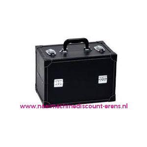 009910 / Leatherlook koffer L zwart prym art. nr. 612821
