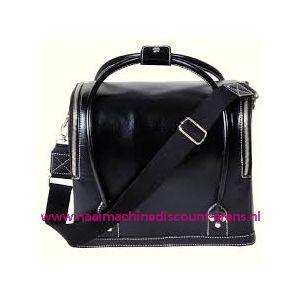 009911 / Leatherlook tas zwart prym art. nr. 612822