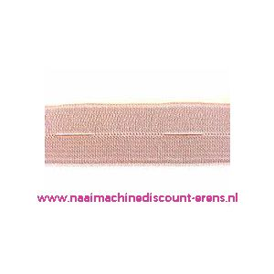 009943 / Knoopsgaten elastiek Huidskleur