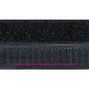 Klittenband 2 Cm kleur zwart voor te naaien - 9950