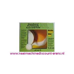 009956 / Vlieseline Stanzband Zwart 40-10 Breed