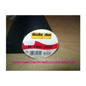 Vlieseline H180 Zwart 90 Cm breed - 9960