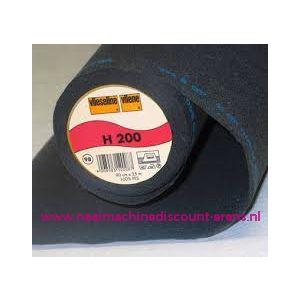 Vlieseline H200 Zwart 90 Cm breed - 9961