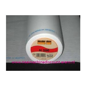 Vlieseline H200 Wit 90 Cm breed - 9962