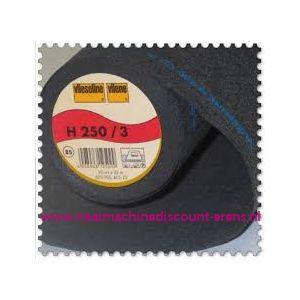 Vlieseline H250 Zwart 90 Cm breed - 9968