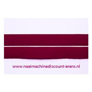 Klittenband 2 Cm kleur bordeaux voor te naaien - 9977