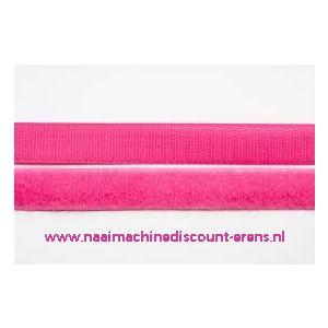 Klittenband 2 Cm kleur fel rose voor te naaien - 9982
