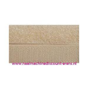 Klittenband 2 Cm kleur beige voor te naaien - 9985