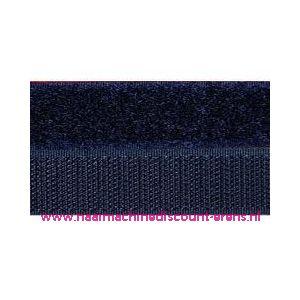 Klittenband 2 Cm kleur donker blauw voor te naaien - 9987