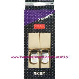 Men Clips Standaard 125 Cm 30 Mm 10 Creme art. nr. 944011 - 1580-1