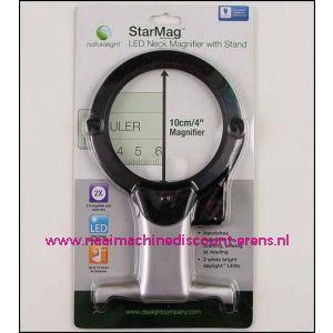 StarMag LED Neck Magnifier met standaard