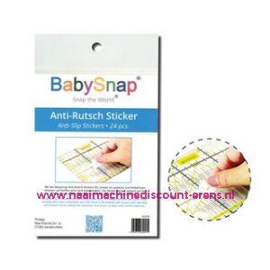 Babysnap Liniaalstopper stickers 24 stuks
