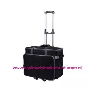 BabySnap naaimachine trolley (50x26x38cm) Zwart