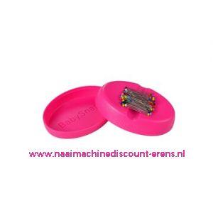 Babysnap magneetspeldenkussen roze incl. deksel en kopspelden