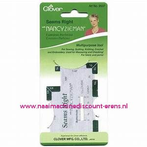 Zoommaatje Clover 9507 in inches