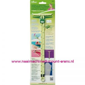 Supersize 5 in 1 Slinding Gauge Clover 9585
