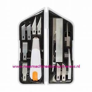 Fiskars 1024385 Premium hoogwaardige hobby messenset