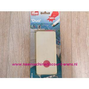 """Centimeter """"DUO"""" 1 zijde flexibel 1.5 M. & 1 zijde stijf 2 M. prym art.nr. 282250"""