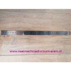 """Liniaal """"SewEasy"""" 30Cm/300Mm Staal Flexibel"""