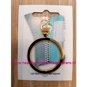 """Modische Schuiver """"metaal ring goud 60mm"""" UNION KNOPF art.nr. 58361"""