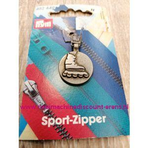 """Sportschuiver """"Rolschaats"""" Oudmessing prym art.nr. 482442"""