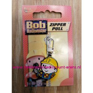 """Ritsenschuiver """"BOB de BOUWER"""" zipper pull"""