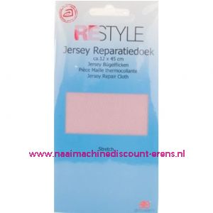 Jersey Reparatiedoek Roze 779 - Restyle