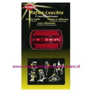 Reflex Lamp Kleiber met 4 licht functies
