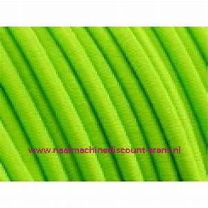 "Elastiek Koord 3 Mm per meter ""Neon groen"""
