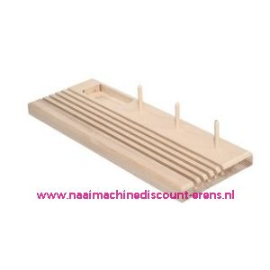 Linialen standaard / organisator hout luxe