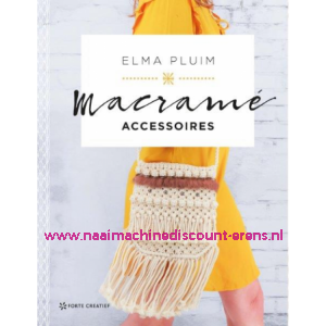Macramé accessoires, Elma Pluim