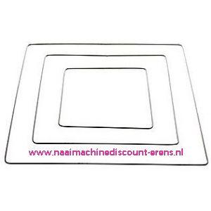 Metalen frame vierkant 25 Cm